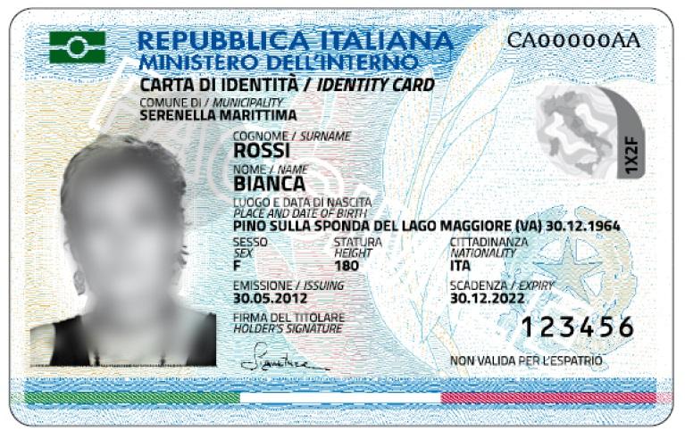 Comune di Canegrate - Richiedere la Carta d\'Identità Elettronica(24 ...
